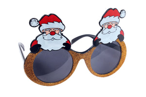 Christmas Santa Claus Golden Goggle