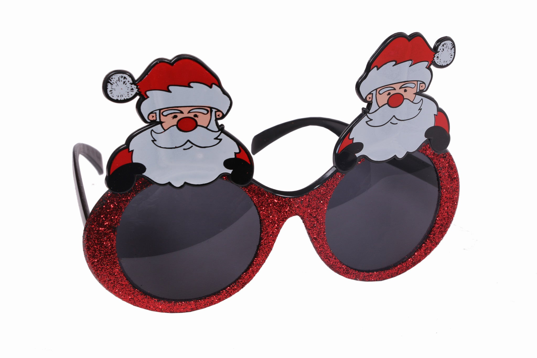 Christmas Santa Claus Red Goggle