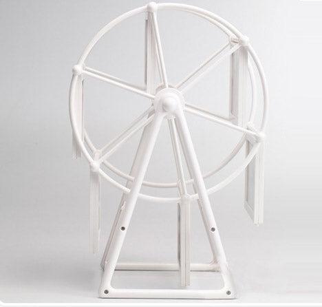 Giant Wheel Photo Frame (White)