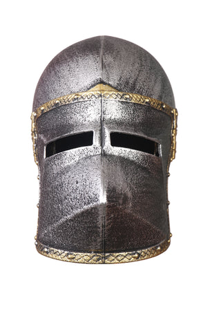 Cosplay Trojan Spartan Adult Viking Warrior Costume Helmet Silver