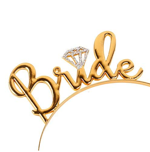 Bride to Be Hairband Golden