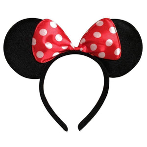 Minnie Mouse Red Hair Band for Kids