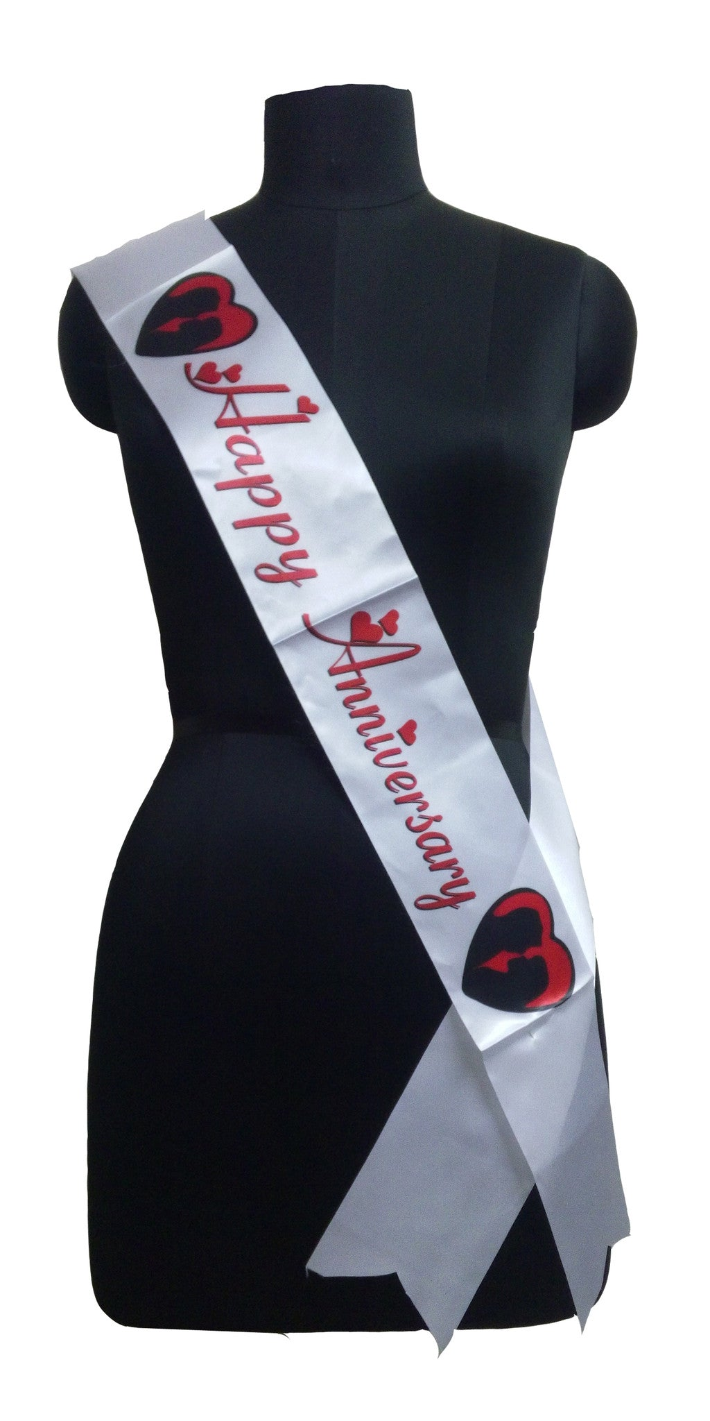 Happy Anniversary Sash (Pack of 2pcs.)