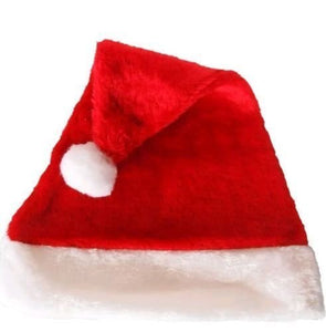 Santa Claus Hat 10 pcs. for Christmas