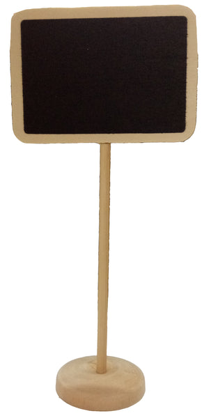 Rectangle Wooden Mini Chalkboard