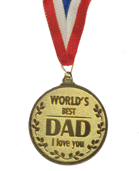 Atpata Funky World's Best DAD Gold Medal