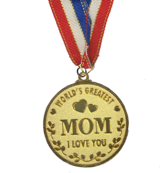 World's Best MOM Gold Medal