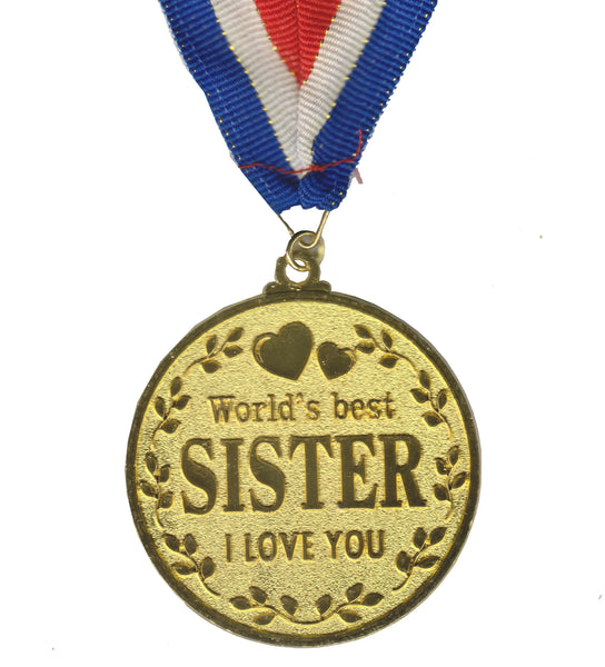 Atpata Funky World's Best SISTER Gold Medal