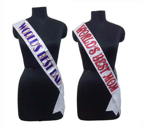 Best Parents Sashes Combo