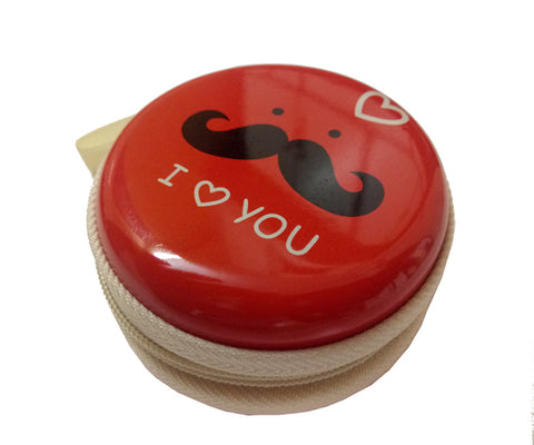 I Love You (Red) Earphone Pouch