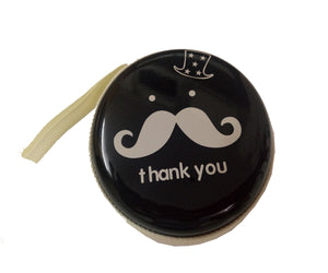 Thank You (Black) Earphone Pouch