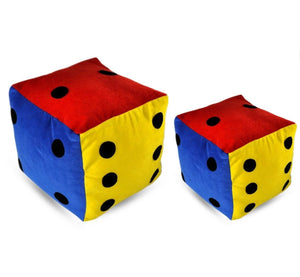 Atpata Funky Big and Small Dice (Pack of 2) - 6 inch & 8 inch