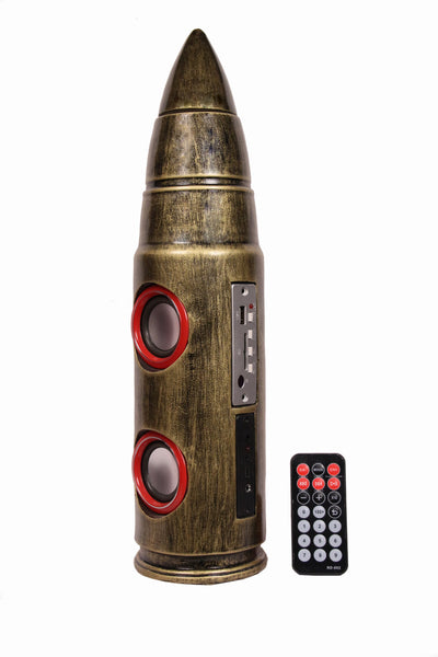 Bullet Designer Wireless Home Audio Speaker