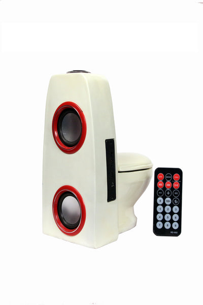 Commode Pot Designer Wireless Home Audio Speaker