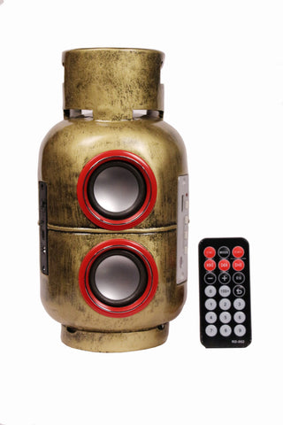 Gas Cylinder Designer Wireless Home Audio Speaker