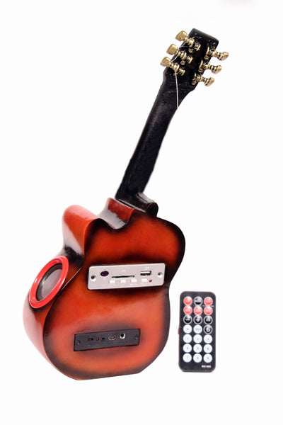 Guitar Designer Wireless Home Audio Speaker