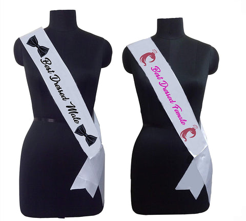 Best Dressed Jodi (Male & Female) Sashes Combo