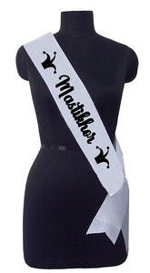 Mastikhor Sash for The Prankster Friend or Family Member