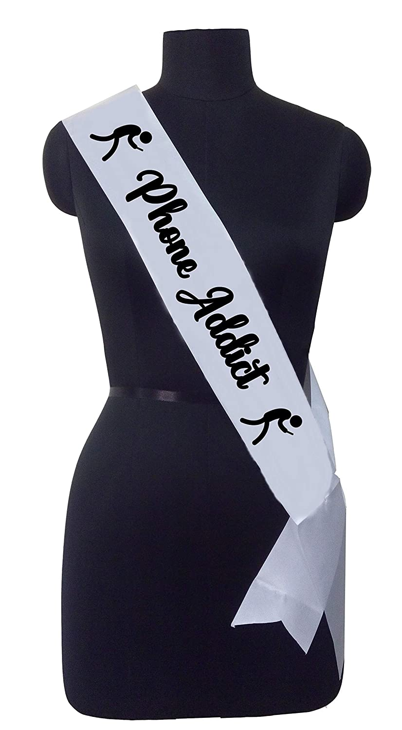 Phone Addict Sash for The Ones who are Always Busy with Their Phone