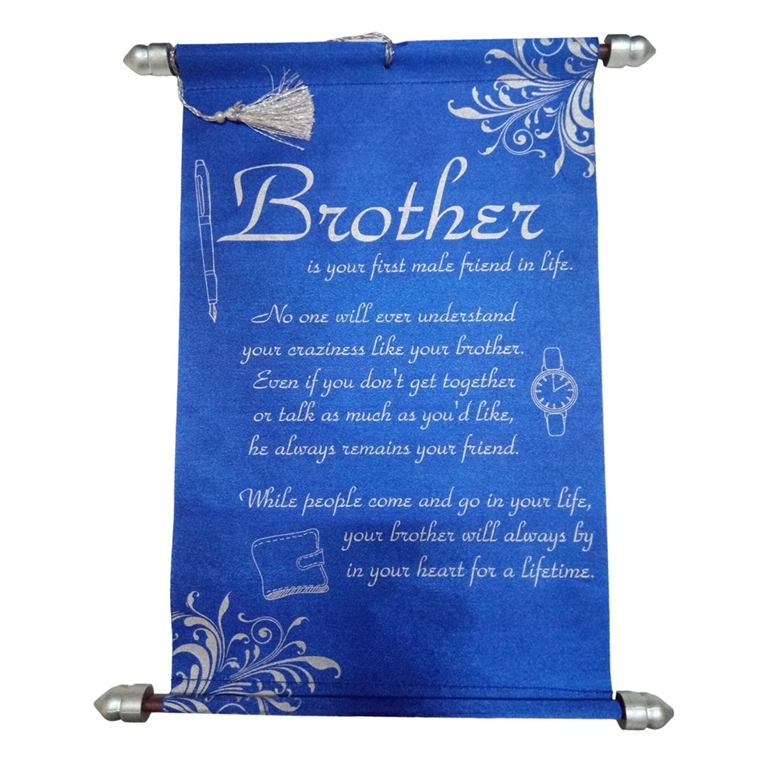 Brother Message Scroll