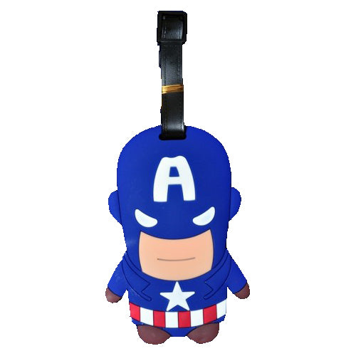 Captain America Luggage Tag