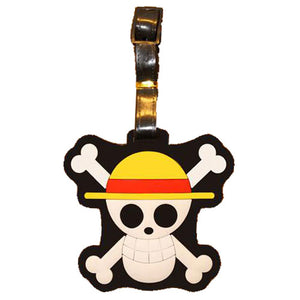 Danger Skull Luggage Tag