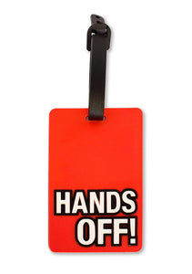 Hands Off Travel Luggage Tag