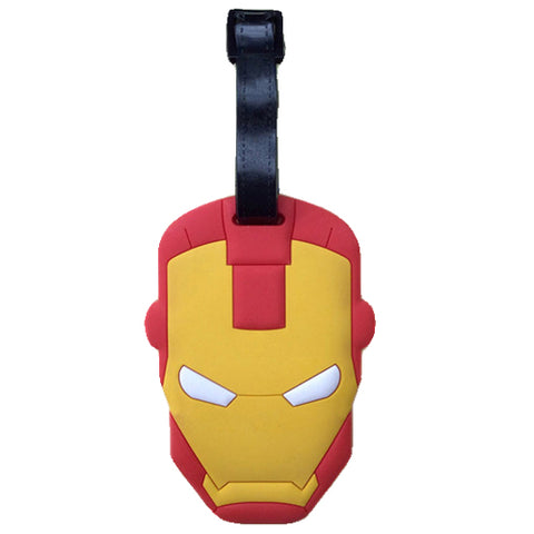 Iron Man Luggage Tag