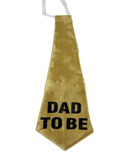 Dad To Be Golden 17 inch Tie