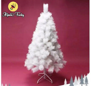 6 Feet Christmas Pine Tree White Snow