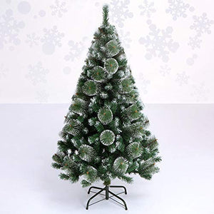 6 Feet Snow Edged Christmas Tree