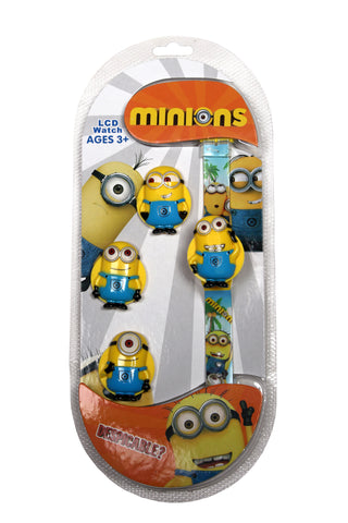 Minions Theme Kids Watch
