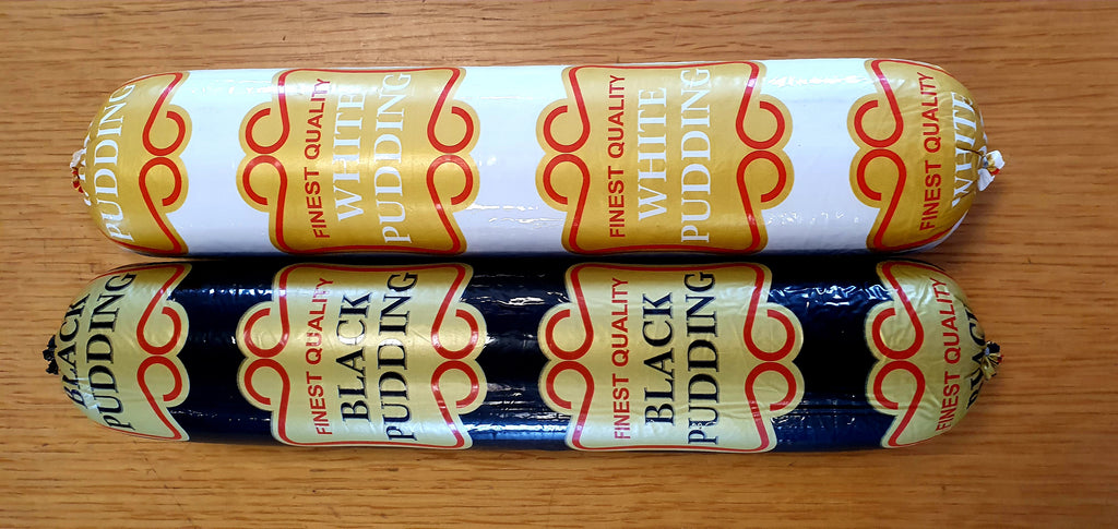 Traditional White Pudding - 1.1kg Full Stick