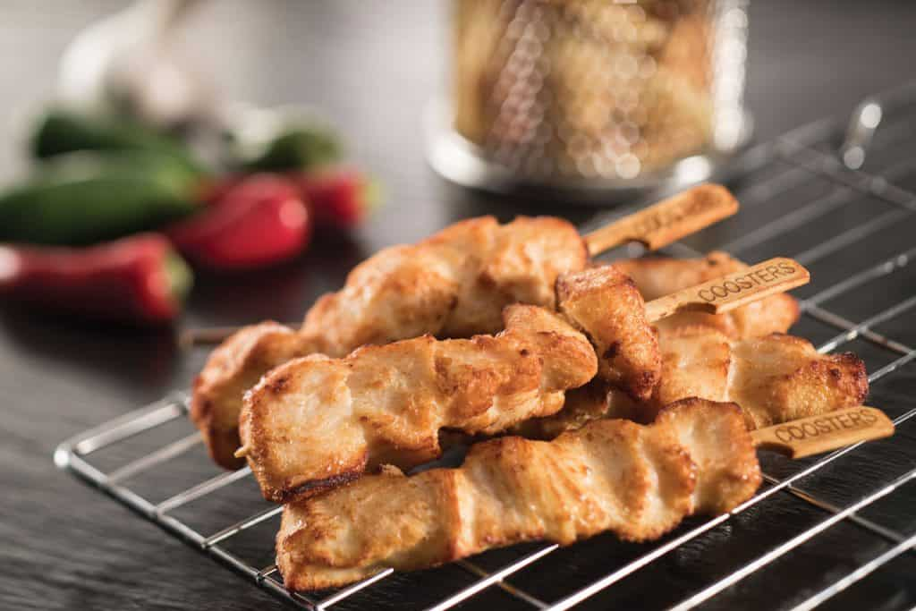 Chicken Breast Skewers