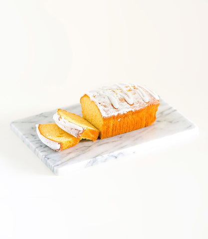 French Village Lemon Loaf Cake