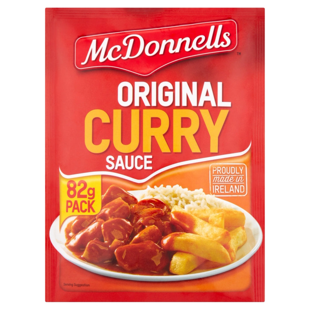 McDonnells Curry Sauce Powder - Gluten Free
