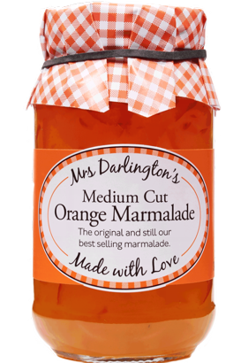 Mrs Darlingtons Medium Cut Orange Marmalade