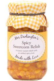Mrs Darlingtons Spicy Sweetcorn Relish