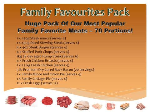 Family Favourite Pack