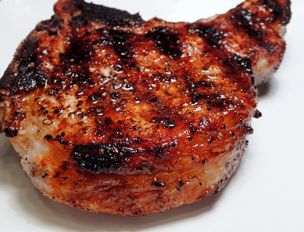 Fresh Boneless Peppered Pork Chops