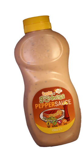 Taste Of Goodness Pepper Sauce