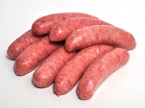 Steak & Cracked Black Pepper Sausages 400g