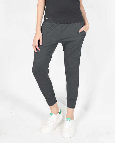Charcoal Tapered Fit Joggers