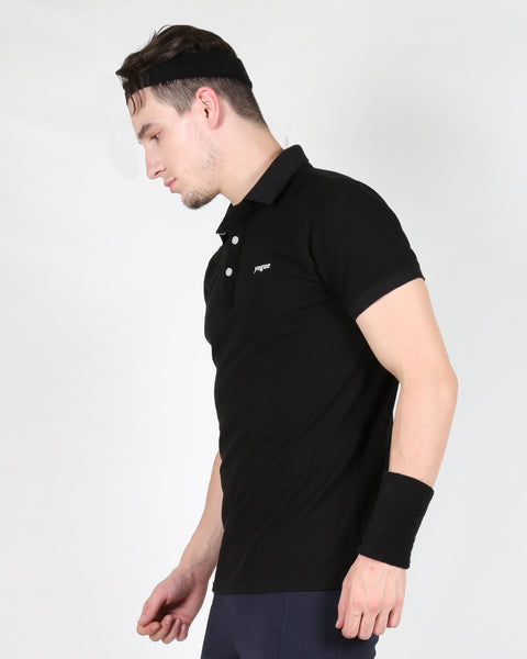 Yogue Men Black T-Shirt