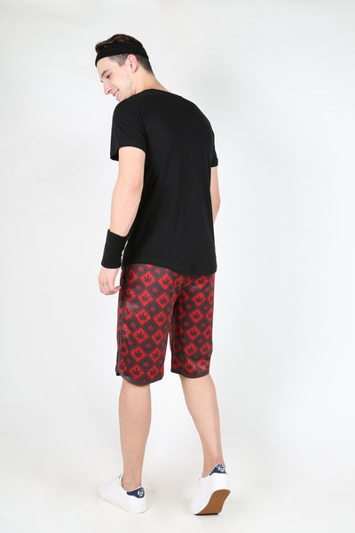 Yogue Red Shorts