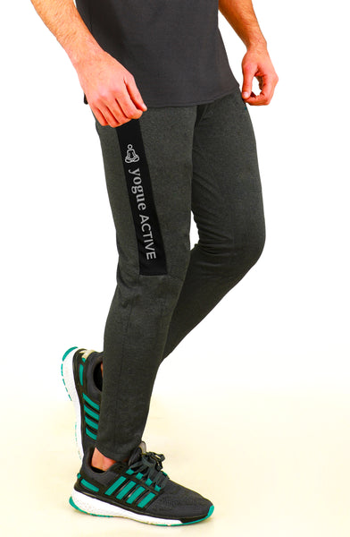 Graphite Grey Slim-Fit Joggers
