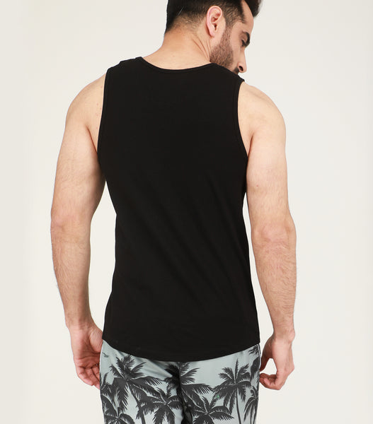 Yogue Active Black Gym Vest