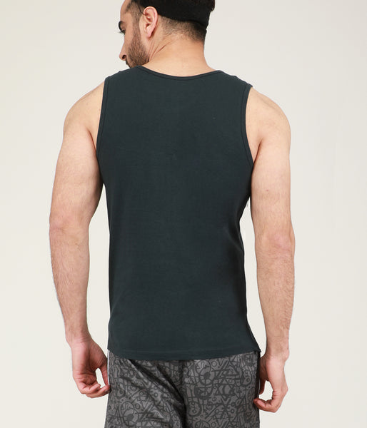 Yogue Active Dark Grey Gym Vest