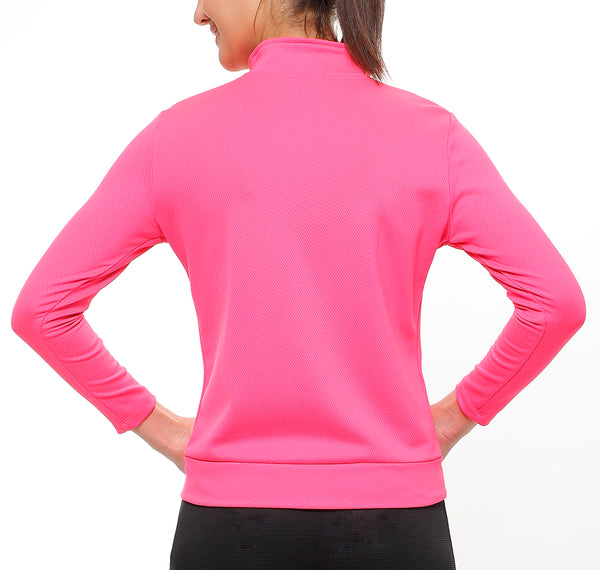 Bright Pink Slim Fit Jacket