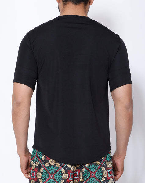 Black Baroque T-Shirt
